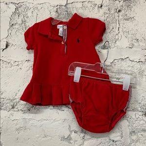 Ralph Lauren Baby Girl's Polo Dress